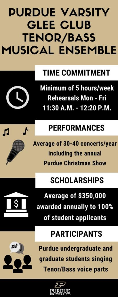 Audition | Purdue Musical Organizations