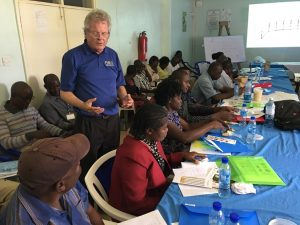 Train-the-trainer workshop in Kenya and Senegal on use of low-cost moisture meter to help make decisions about grain drying
