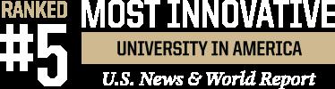 No. 5 most innovative university