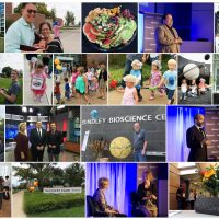 A montage of images from the Discovery Park Open House and Convergence Conference