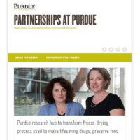partnerships website screenshot