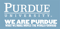 Purdue University. We are Purdue. What we make moves the world forward.