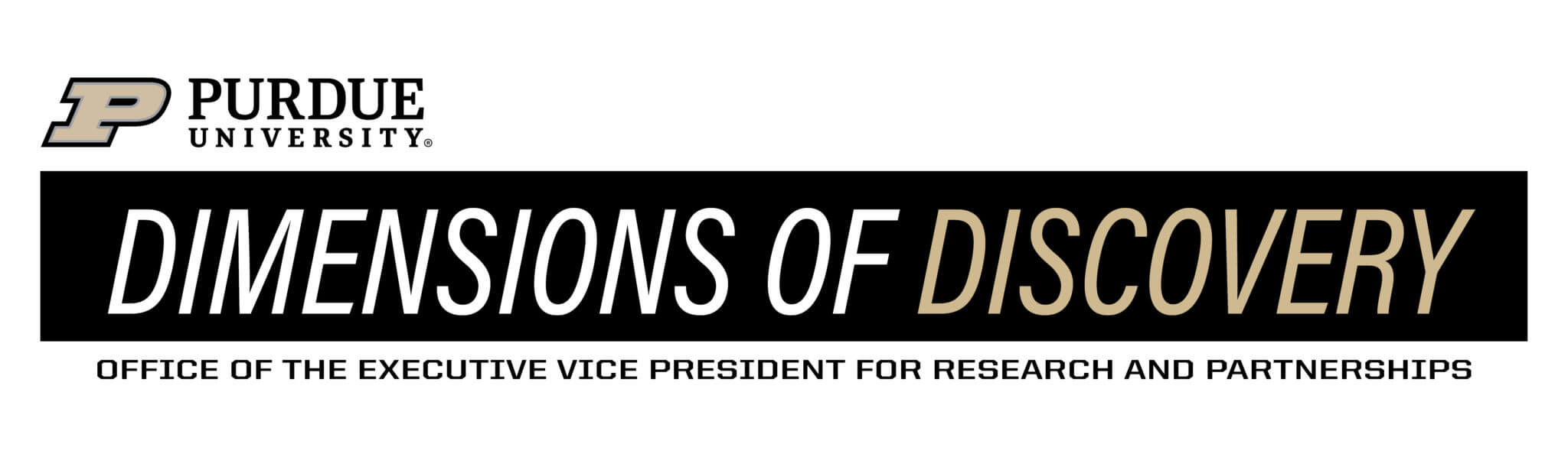 Dimensions of Discovery: Office of the Executive Vice President for Research and Partnerships