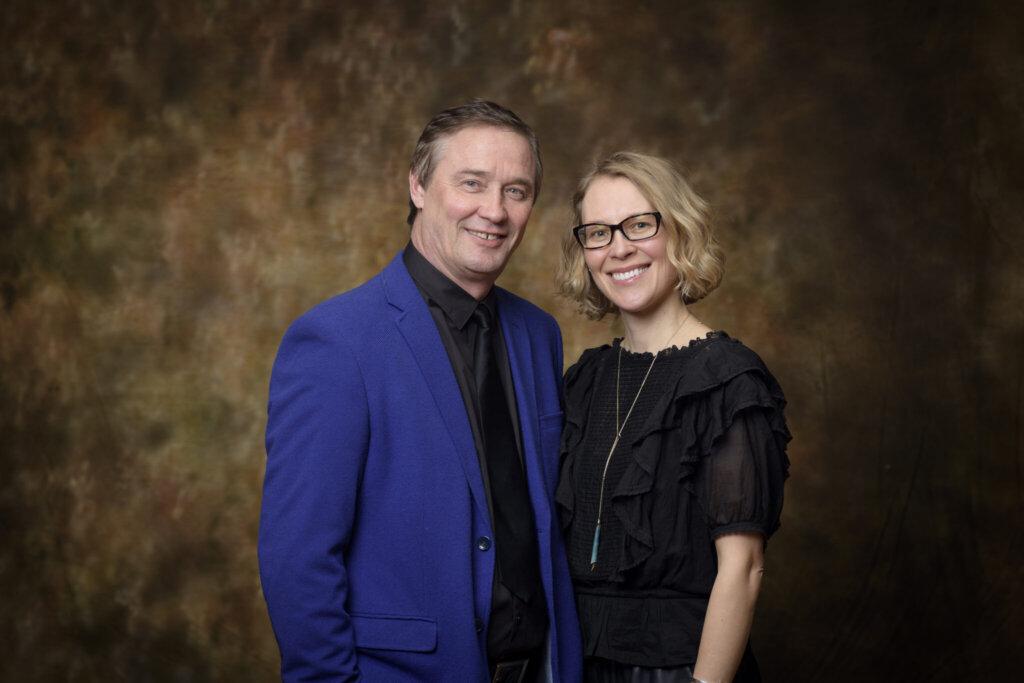 Vladimir M. Shalaev and Alexandra Boltasseva