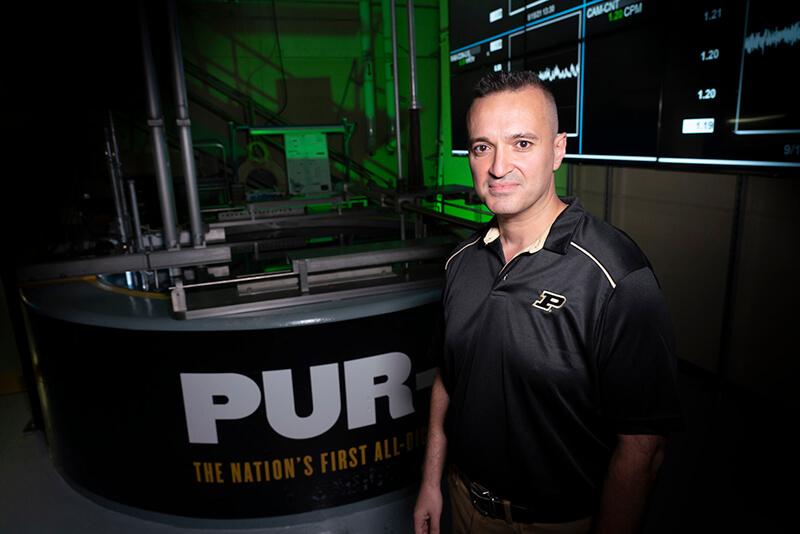 Hany Abdel-Khalik, a Purdue associate professor of nuclear engineering.