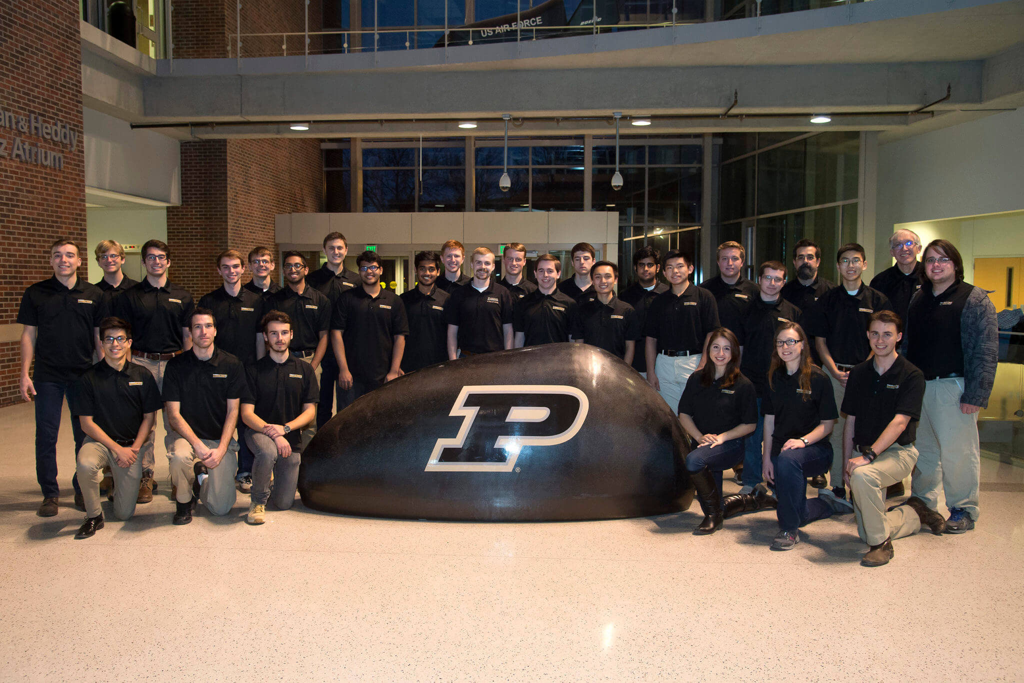 Purdue's Hyperloop team