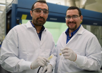 Two researchers