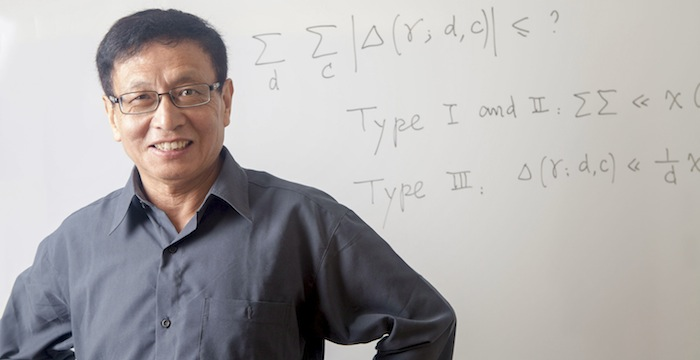 Math alumnus Yitang Zhang named MacArthur Fellow