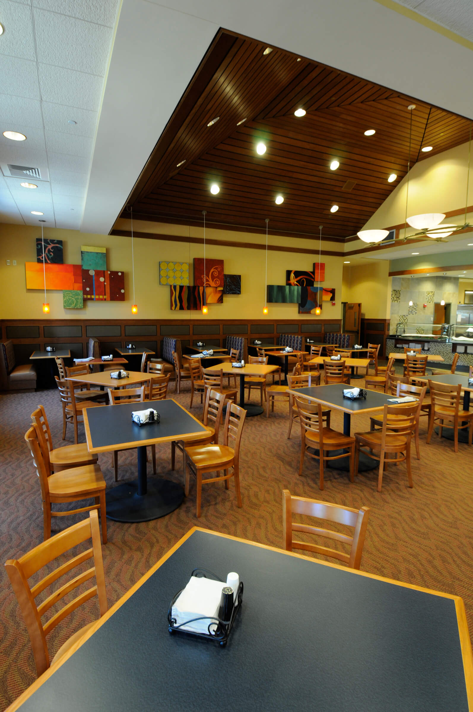 Ford dining court west lafayette in for Interior design lafayette indiana