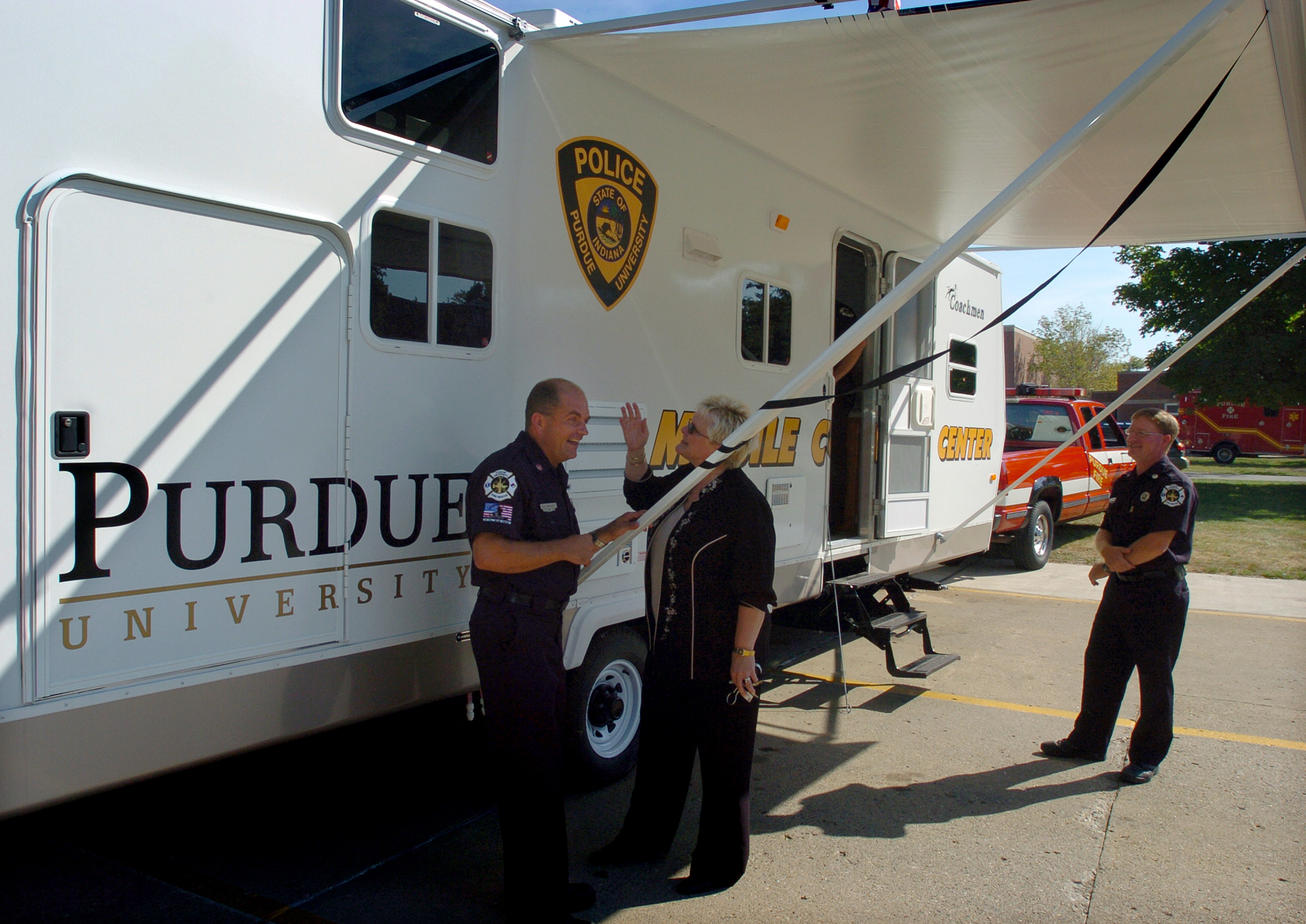 Coachmen RV revs up Purdue's emergency response ability