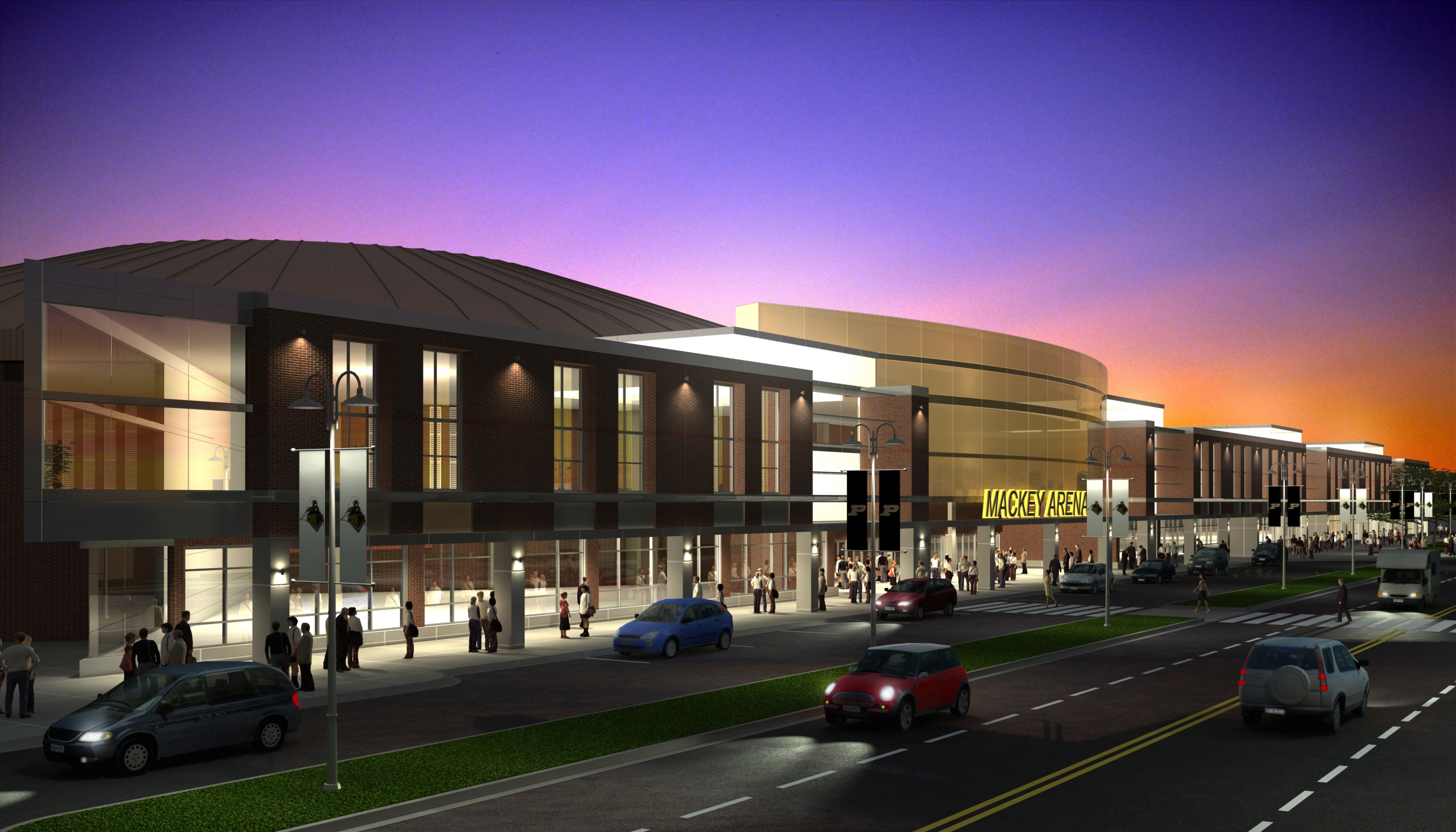 Purdue Unveils Proposal For 82 Million Mackey Arena Complex
