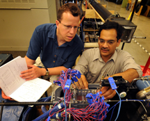 Purdue University researchers are developing a tiny refrigeration unit to keep laptops cool