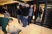 "Staff at Purdue assemble ""Steele\"", the Big Ten\'s largest supercomputer"
