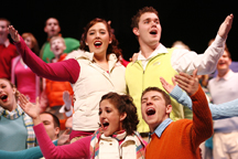 The 75th annual Purdue Christmas Show will be presented Dec. 12-14 in Elliott Hall of Music. New Purdue Musical Organizations director Bill Griffel will direct the show for the first time this year. (Photo courtesy of Purdue Musical Organizations)