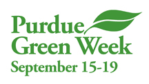 Purdue is celebrating Green Week September 15-19