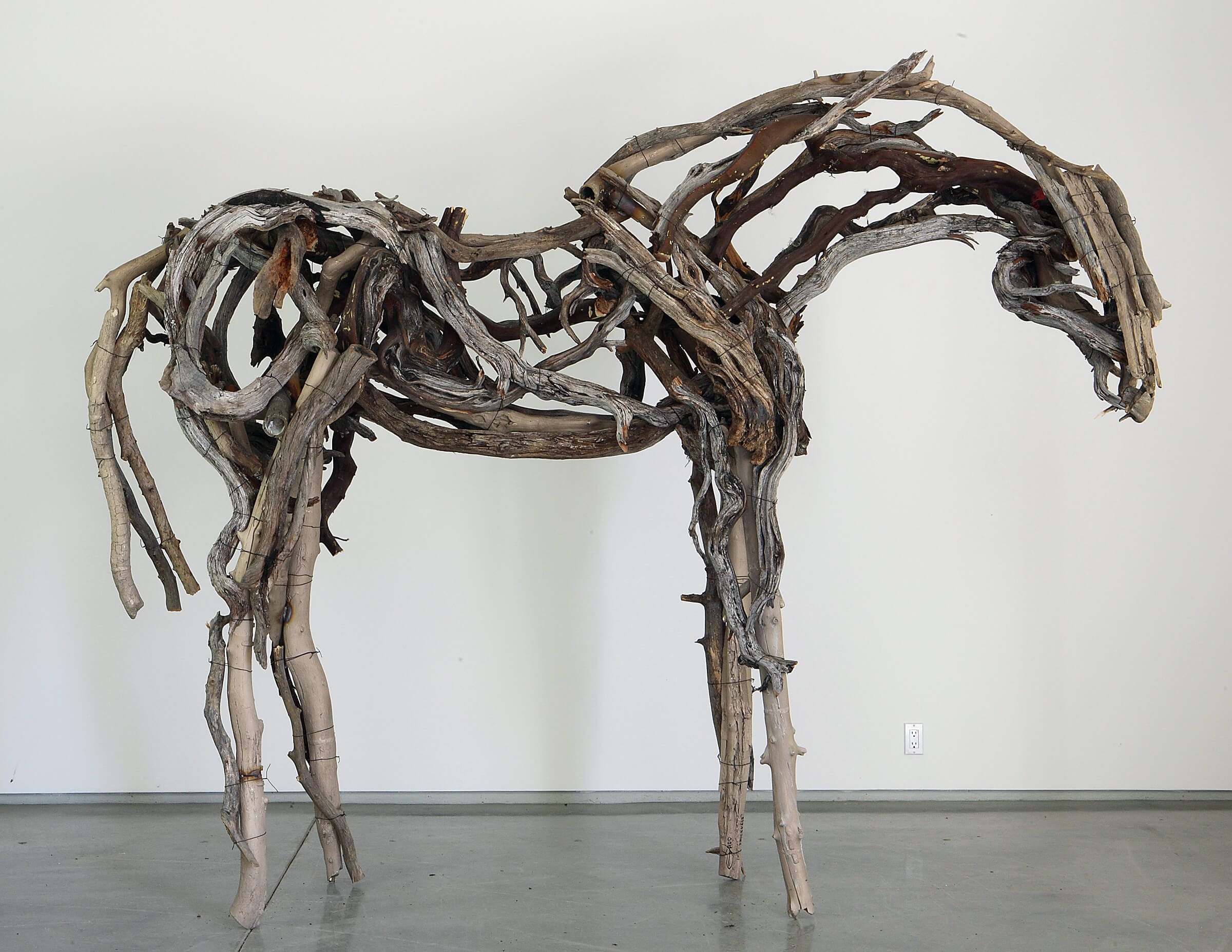Deborah Butterfield Bronze Horse Sculpture To Be Installed