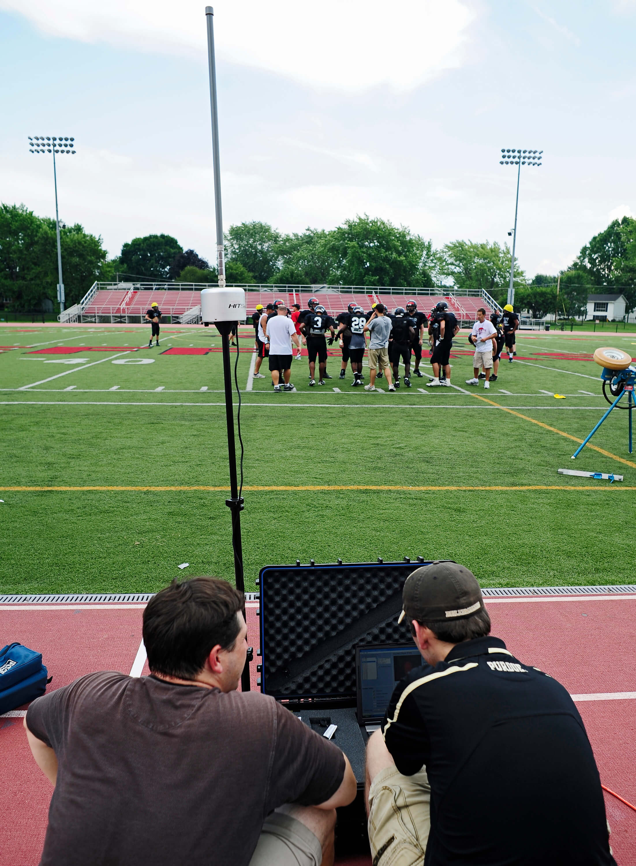 Purdue University Football Helmet