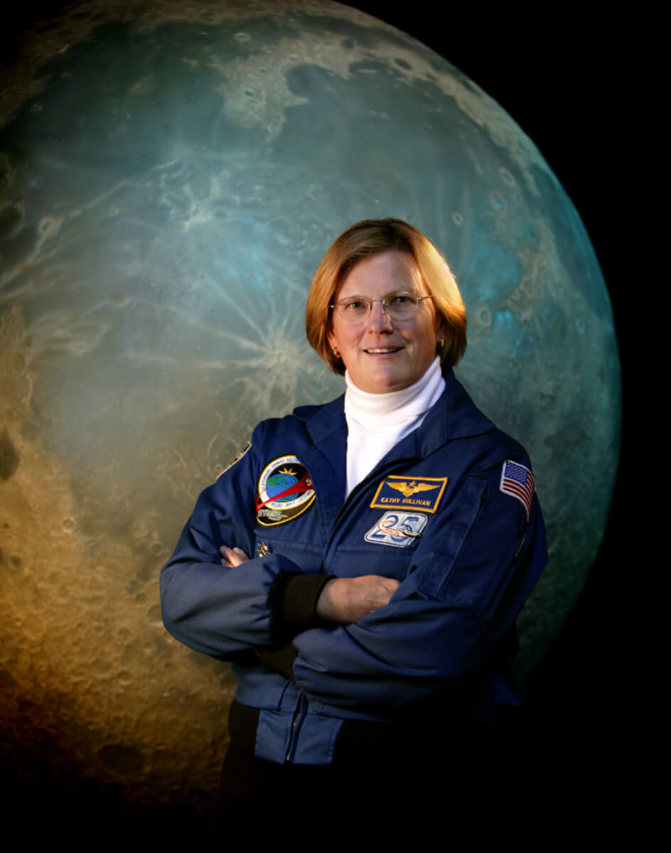discovery lecture features first woman astronaut to walk