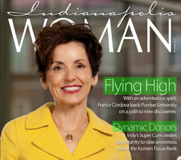 Cordova on Indianapolis Woman cover