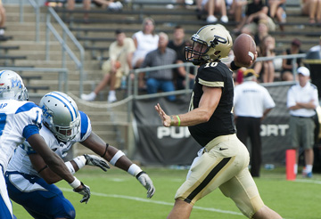 Caleb TerBush in Purdue vs. MTSU
