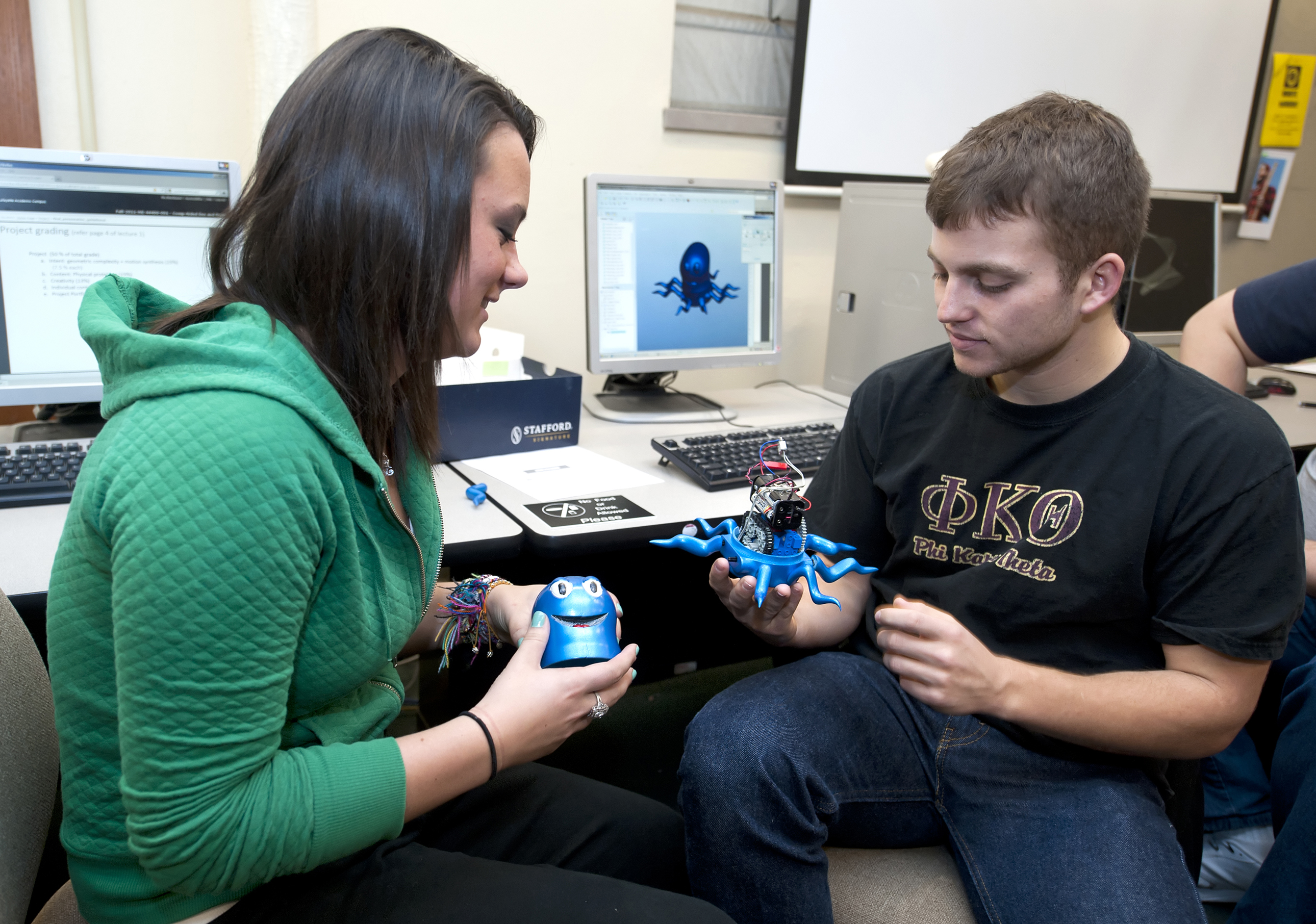 Engineering students to display toys created in design course