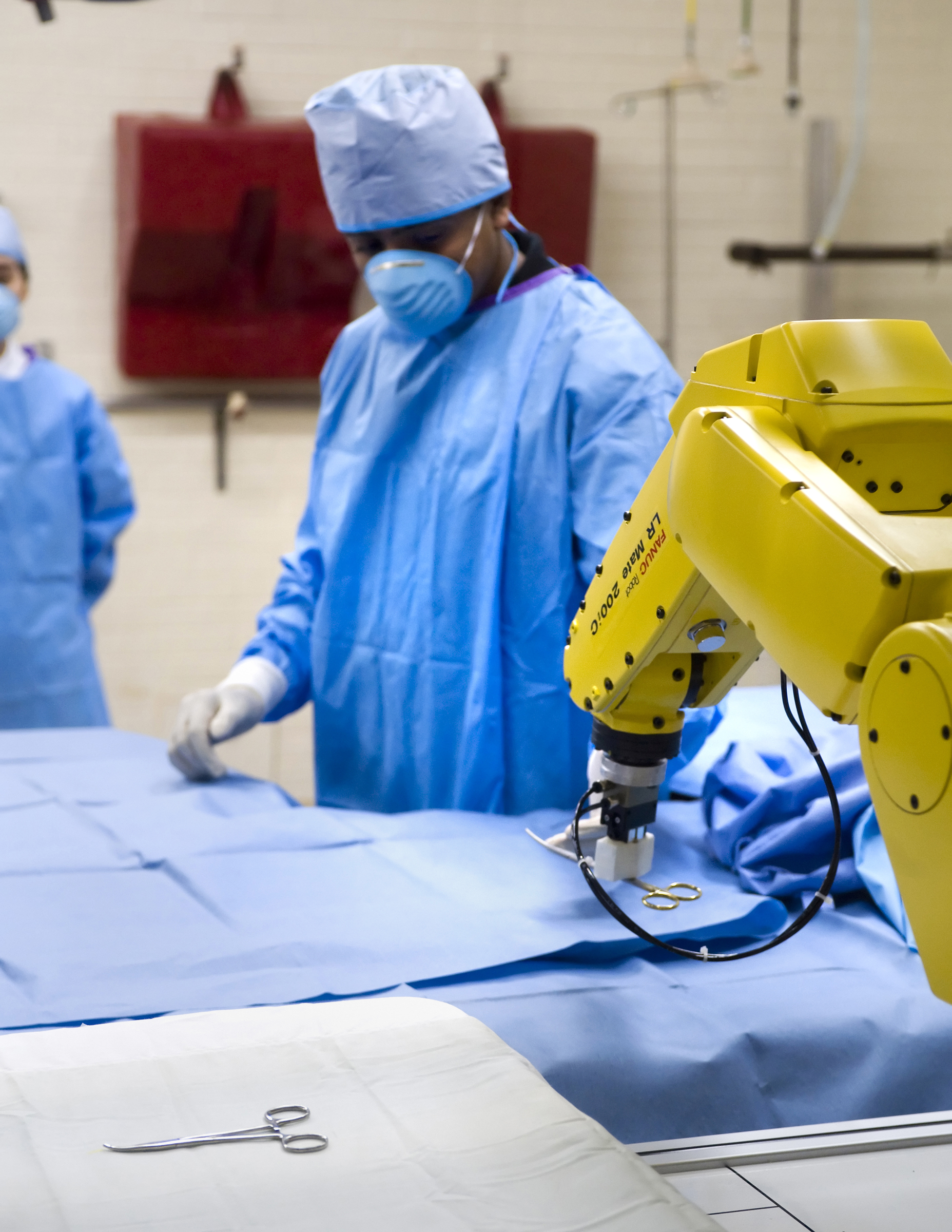 Future Surgeons May Use Robotic Nurse Gesture Recognition