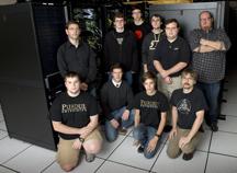 Cluister Challenge team