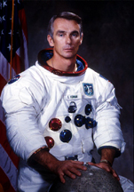 Eugene A. Cernan in a NASA photo