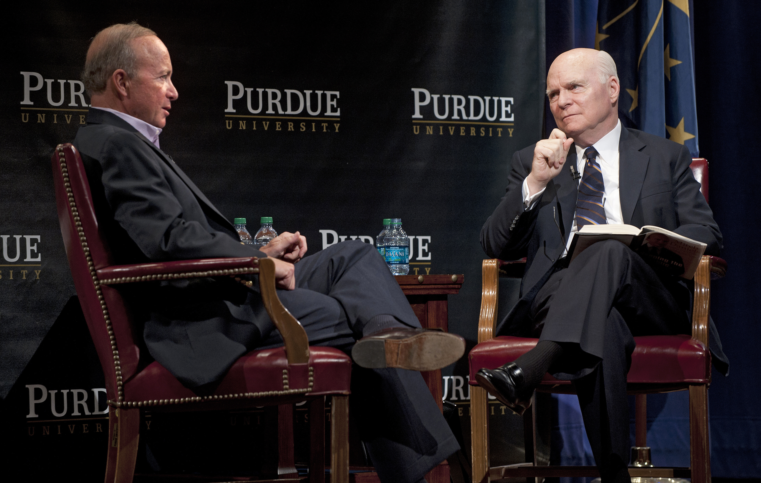 Brian Lamb interviews Mitch Daniels