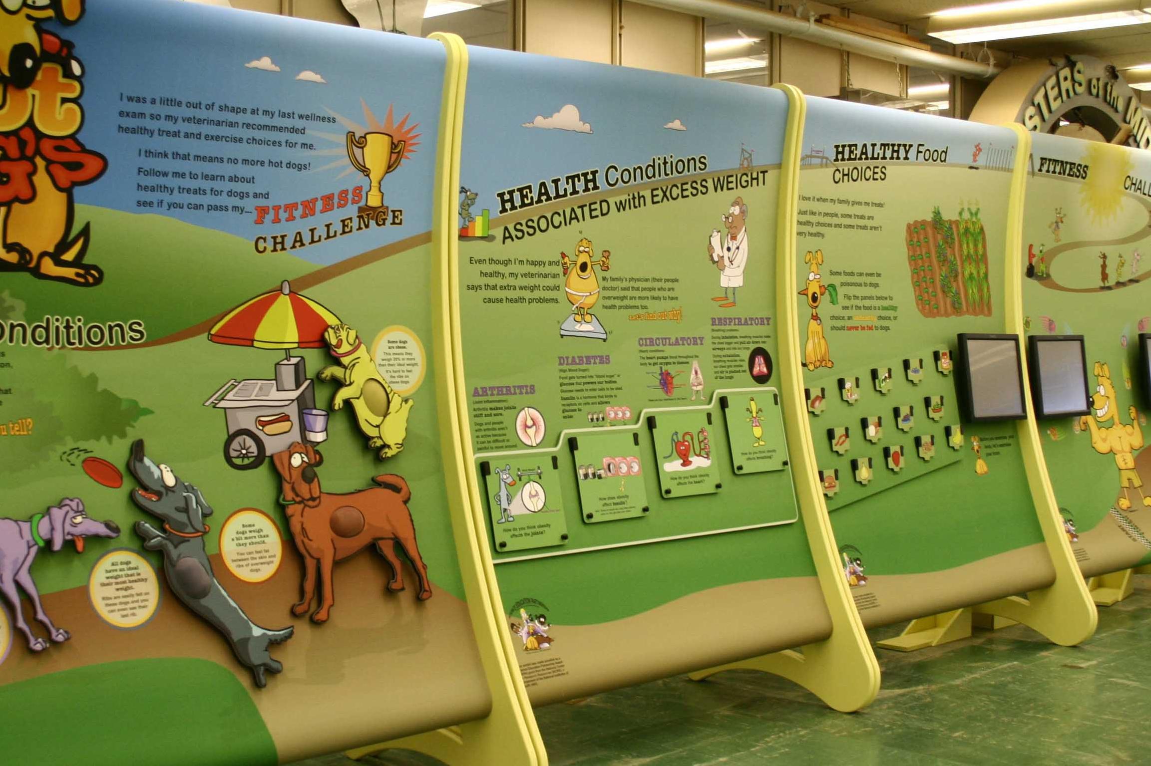 Purdue Exhibit Shows How To Make Better Food Choices Purdue University
