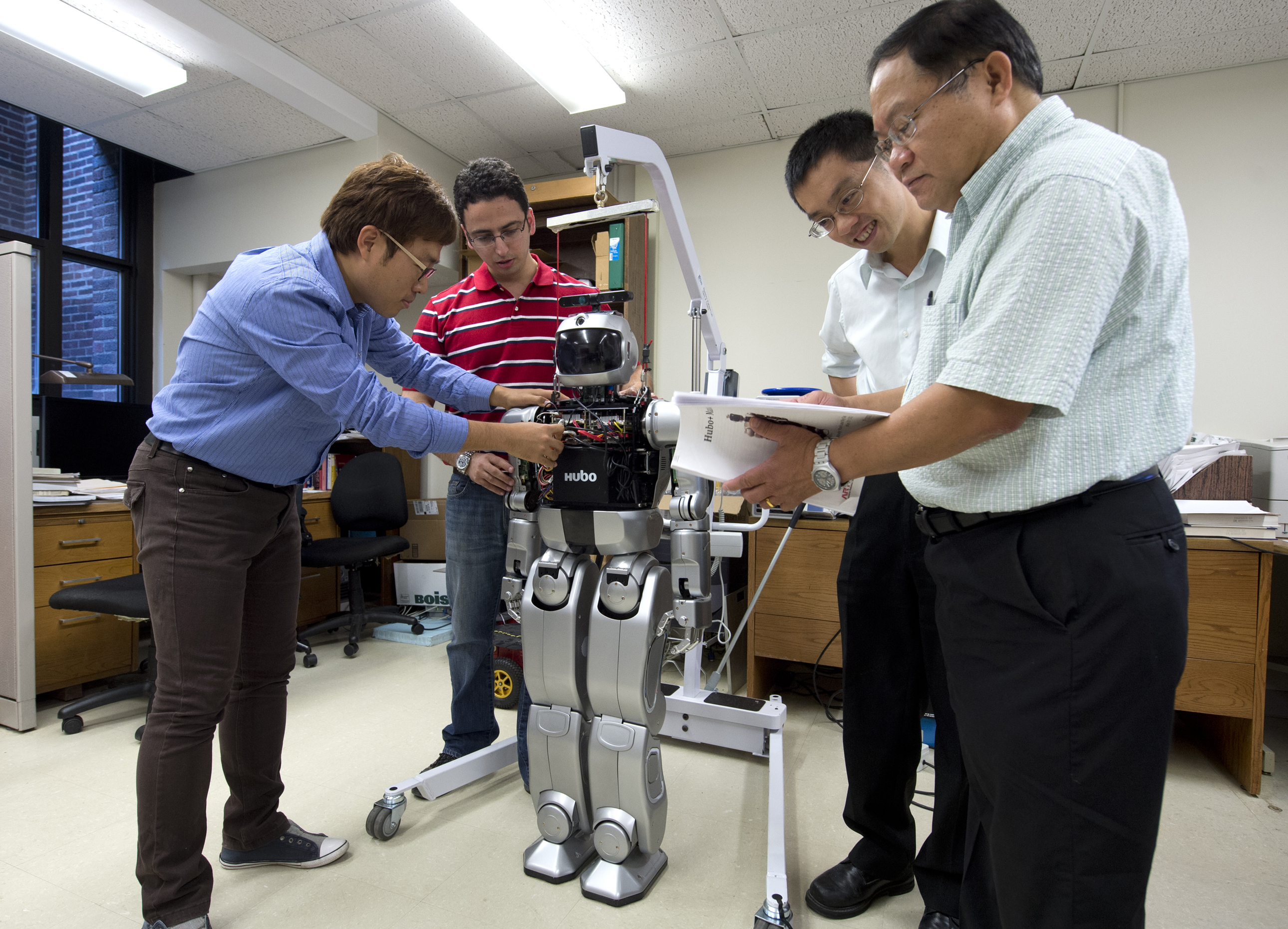 Humanoid Robots Are Focus Of Research At Purdue