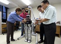 wiring of robot