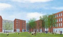 Vawter Field housing rendering