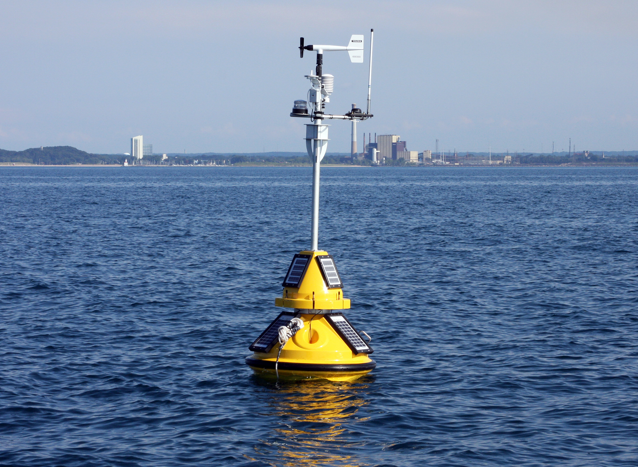new buoy offers real time lake michigan data in indiana purdue