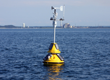 buoy on Lake Michigan