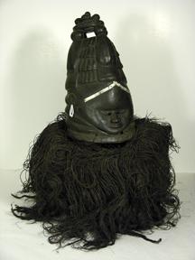 Mende Bundu Helmet Mask
