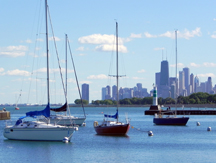 Chicago's Belmont Harbor