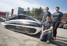 solar car 'Navitas'