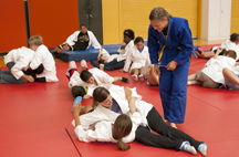 Local youth learn judo