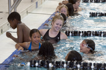 Local youth learn swim