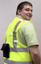 Eric J. Ward hygienist vest