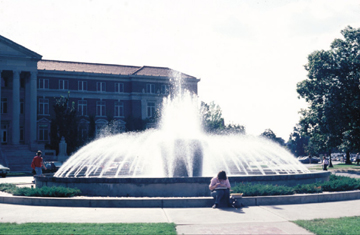 Historical image Loeb Fountain