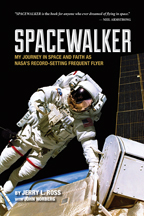 Jerry Ross Spacewalker book cover