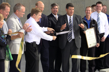 Swift Fuels ribbon cutting
