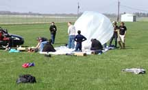 AMET balloon launch