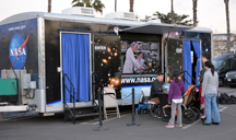 NASA Driven to Explore mobile unit