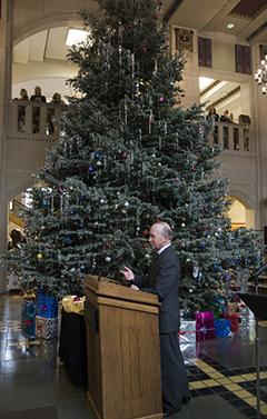 Union Christmas tree
