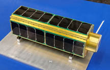 SporeSat spacecraft