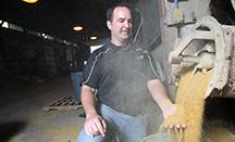 Jon Schoonmaker distillers grains