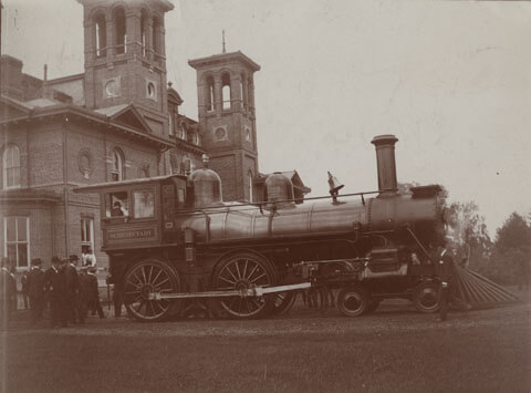 Schenectady steam engine
